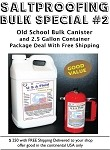 FREE Shipping Bulk Combo Special USA Fluid 2.5 Gallon Container and Canister Special Order